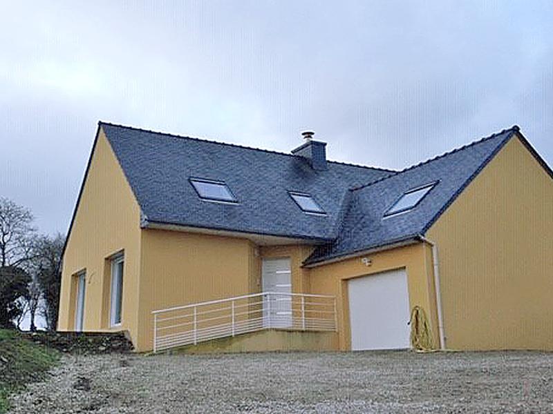 Maisons C2B, construction, rénovation, extension, landivisiau, finistère, bretagne, Maison traditionnelle n°01