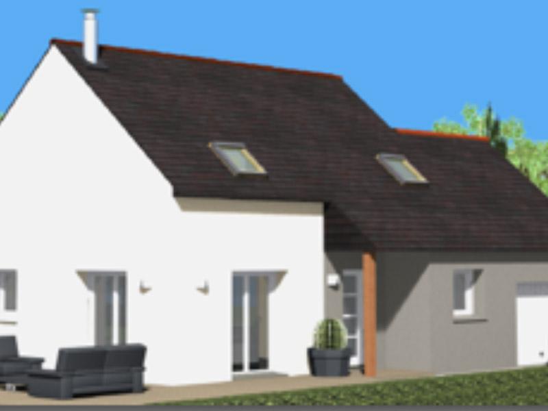 Maisons C2B, construction, rénovation, extension, landivisiau, finistère, bretagne, Maison traditionnelle n°02
