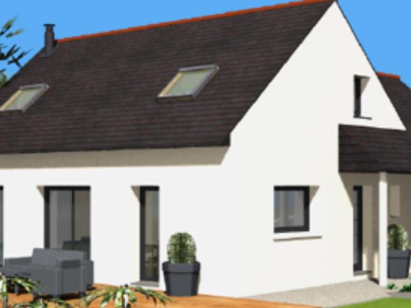 Maisons C2B, construction, rénovation, extension, landivisiau, finistère, bretagne, Maison traditionnelle n°03