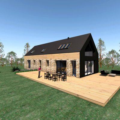 Maison c2b extension n°02